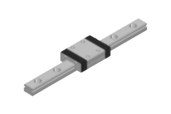Tretter-Miniaturführung - Profilschiene - TMO-09